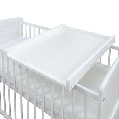 Wickelbrett Wickeltisch Wickelaufsatz weiß für Bett 140x70 und 120x60cm