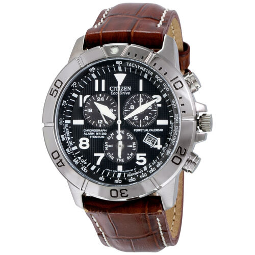 $186.99 - Citizen Eco-Drive Perpetual Calendar Chronograph Mens Watch BL5250-02L