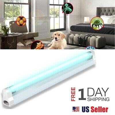 110V LED UV Lamp Germicidal Sterilizer Eliminator Home Ultraviolet Light Tube US