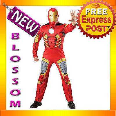 vengers EVA Muscle Chest + Mask Halloween Adult Costume (Iron Man Halloween Costume)
