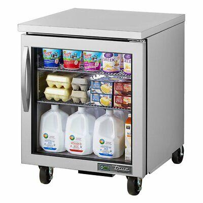 True Tuc-27g-hcfgd01 Reach-in Undercounter Refrigerator