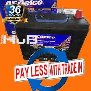 NEW 41 43C MF43 330CCA Car Battery AC DELCO 22NF330D SMF
