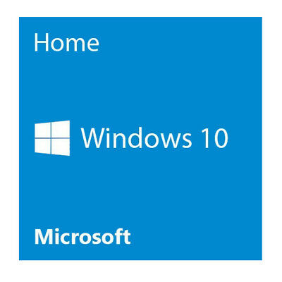Microsoft Windows 10 Home 64 Bit English 1-Pack System Builder OEM - PC Disc