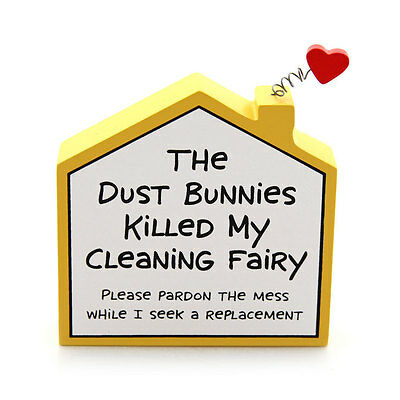 Enesco My Name is Mud Cleaning House Plaque NIB Free Shipping #4027109