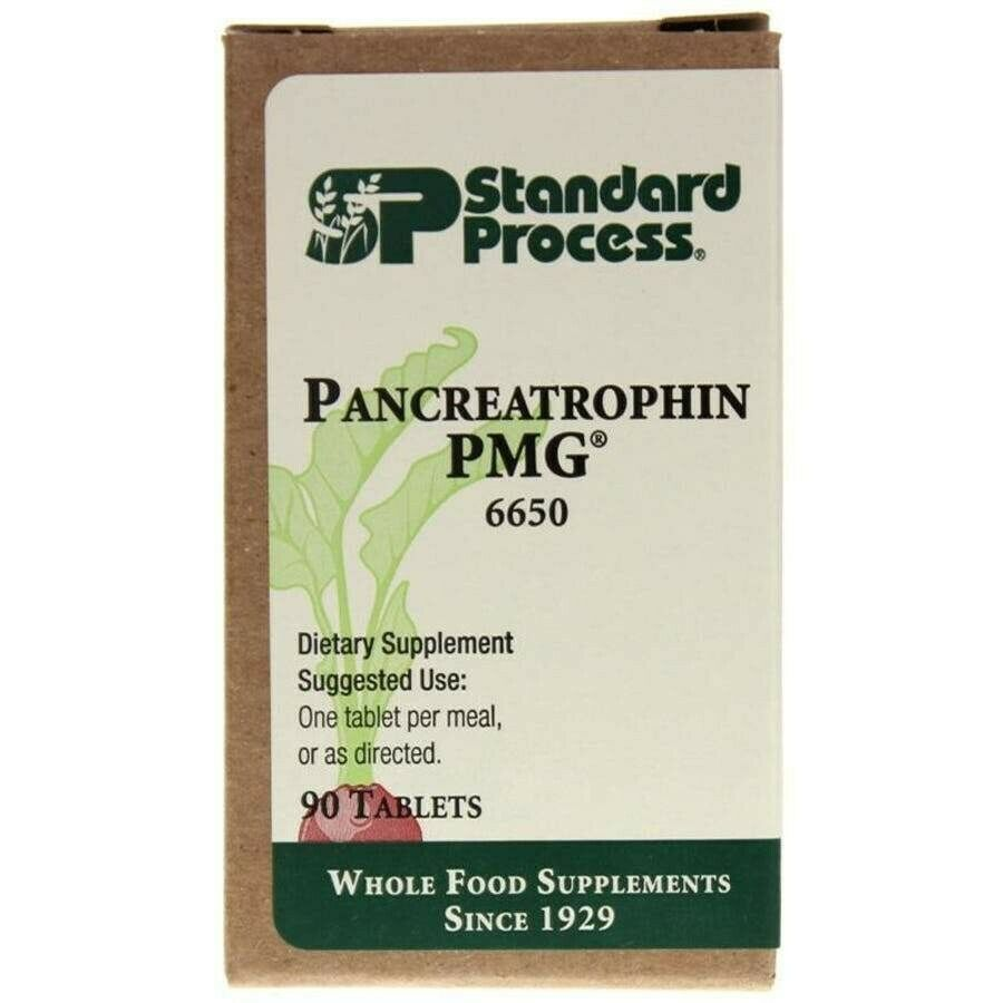 Standard Process Pancreatrophin PMG 90 Tablets