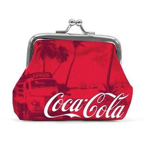 Coca Cola Red Coin Purse with metal clasp Coke - Official - Perth Seville Grove Armadale Area Preview