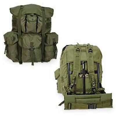 Military U.S. Style LCII Alice Packs • Large Complete with Frame Black