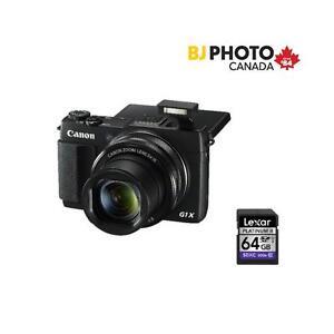 Canon G1X MARK II Black Friday Kit WITH LEXAR 64GB SD