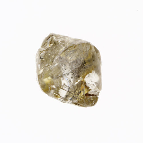 Gorgeous White Yellow Color I1 Clarity 0.98 Carat Charming Natural Rough Diamond
