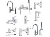 Tap Sale. Large Range of Bath Taps, Bath & Shower Mixer Taps and Basin Taps New & Boxed from £21.