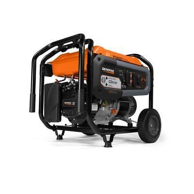 Generac 6500-Running Watt Portable Generator with Engine