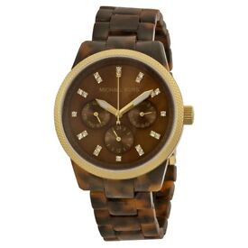 Tortoise Shell MK watch