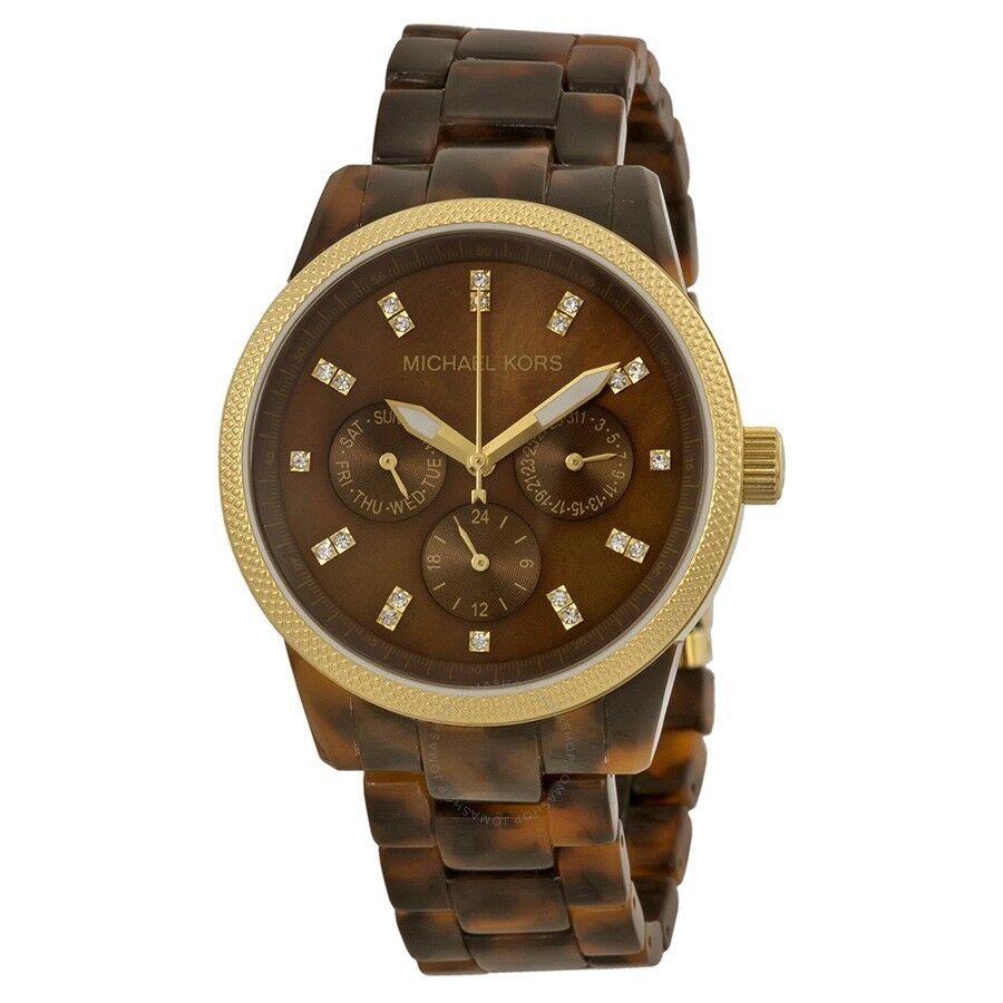 Tortoise Shell MK watch