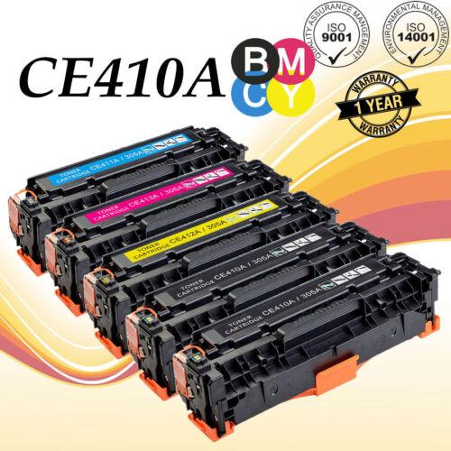 3 PK CE410A Toner fits HP Pro 400 color MFP M475dn Printer FREE SHIPPING!