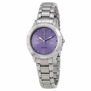 Citizen ladies Eco Drive genuine diamonds watch EM0450-53X $450
