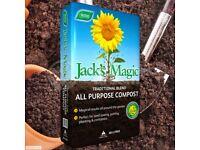 1 x Multi Purpose Compost - Rich Peat Jack's Magic - Garden Plant Soil Westland 60L