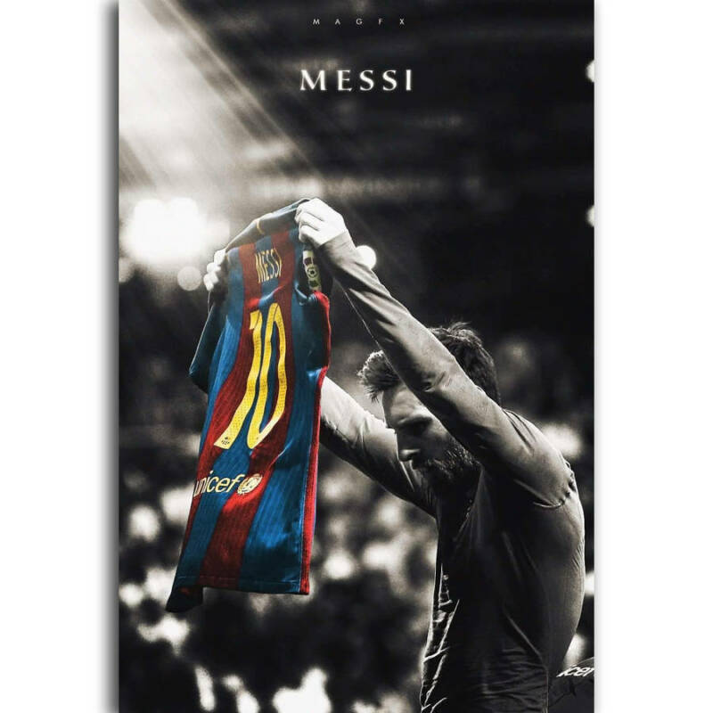Art Poster Lionel Messi Football Super Player 14x21 24x36 Hot Y385