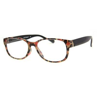 AJ MORGAN Readers Reading Glasses Designer Eyewear Red Tortoise  EARN IT Readers