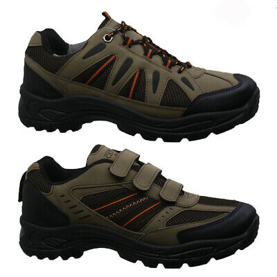 MENS TRAIL WINTER WALKING HIKING WINTER WORK TREK ANKLE BOOTS SHOES TRAINERS