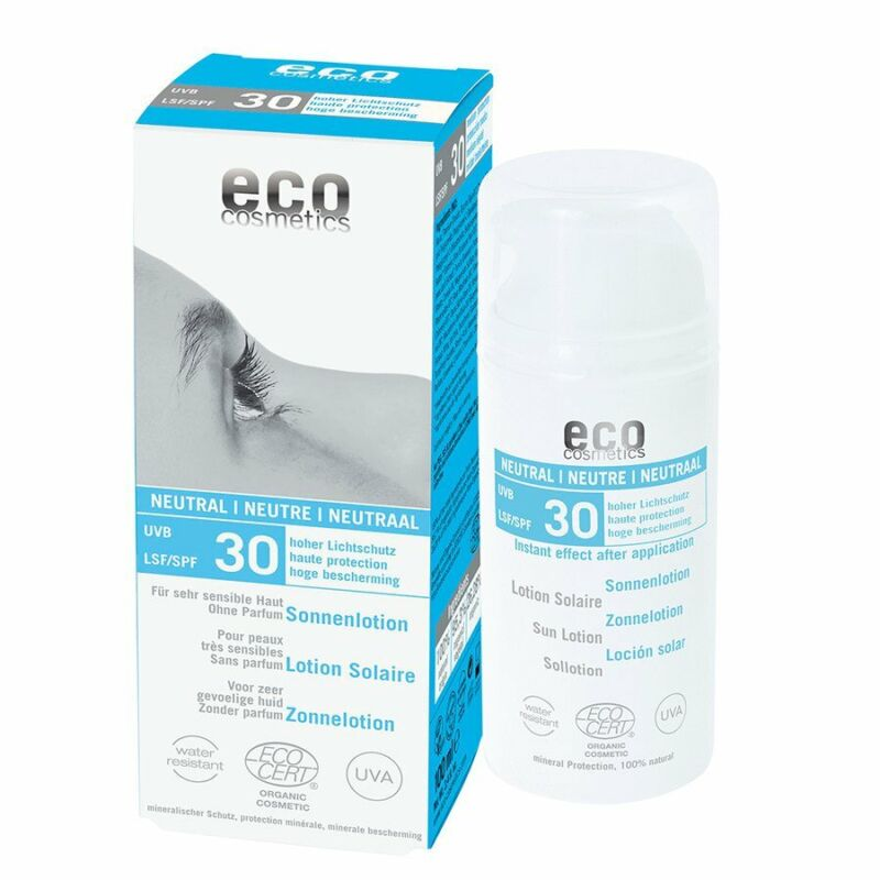 Eco Cosmetics Naturkosmetik Sonnenlotion LSF30 Neutral 100ml
