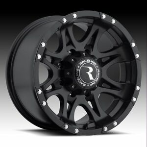 16x8-black-Raceline-Raptor-981-wheels-Mitsubishi-Montero-Sport-Hummer-H3-6x5-5