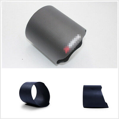 100% Real Carbon Fiber Exhaust Pipe Cover Exhaust Muffler Pipe Tip For Car Truck