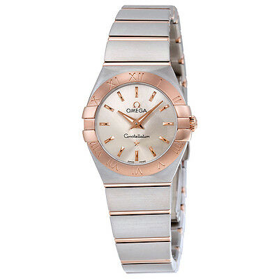 Omega Constellation Stainless Steel Ladies Watch 123.20.24.60.02.001