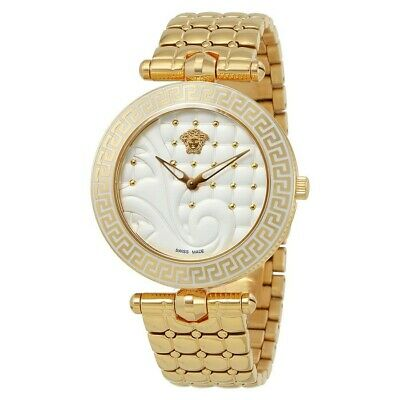 VERSACE VANITAS VK7240015 LADIES' PVD ROSE GOLD PLATED SWISS WATCH