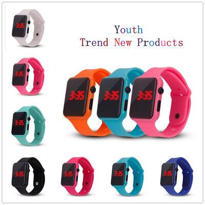 Digital Unisex Sport Watch (LED Digital Screen Wrist Sport Watch For Men Women Unisex Boys Girls Kids Gift )