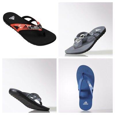 adidas Mens Calo 5 Flip Flops Sandals Pool Beach Shoes Slides