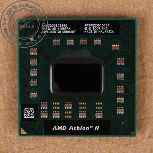 AMD Athlon II M320 - 2.1 GHz (AMM320DBO22GQ) Dual-Core CPU Prozessor 1600 MHz