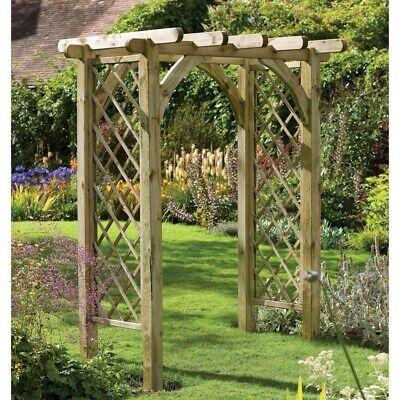 Garden pergola arch