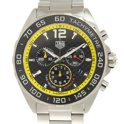 Tag Heuer Formula 1 Chronograph Quartz Black Dial Mens Watch CAZ101ACBA0842