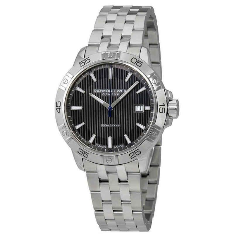 Raymond Weil Tango Grey Dial Men Watch 8160-ST2-60001