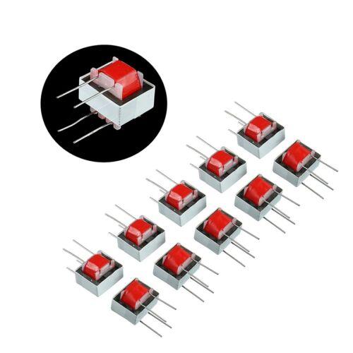 10pcs/pack 600 : 600 Ohm 1:1 EI14 Isolation Transformer Audio Transformers N207