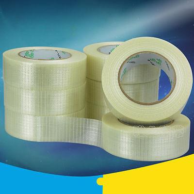 Woven Fiberglass Tape (Clear Fiberglass Woven Tape Adhesive for RC Model Airplane Repair Hobby)