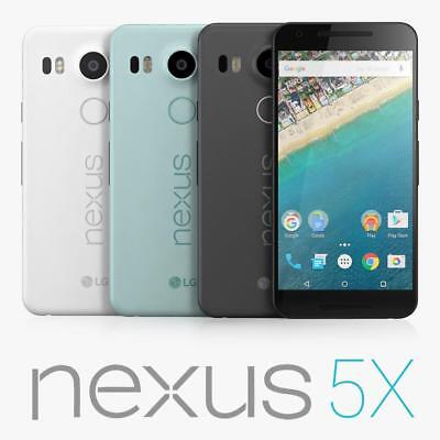 "New *UNOPENDED* LG Nexus 5X 64GB H790 5.2"" Unlocked Smartphone / Blue / 16GB"