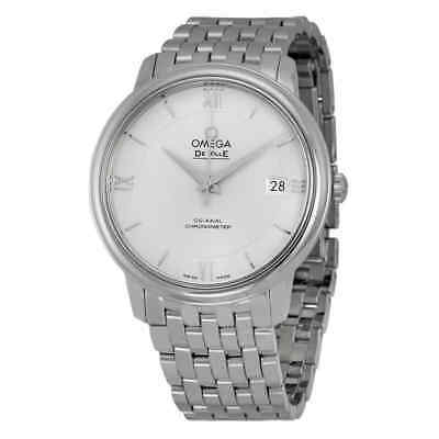 Omega Prestige Co-Axial Automatic Silver Dial Unisex Watch 424.10.37.20.02.001