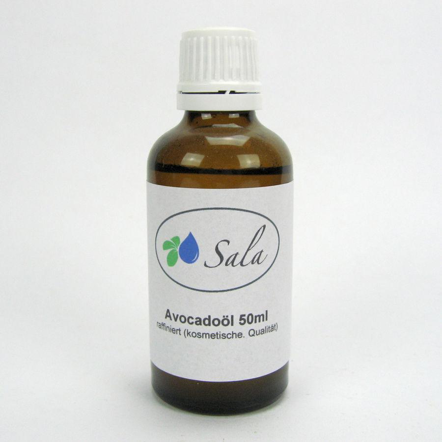 (3,98/100ml) Sala Avocadoöl Avocado Öl raffiniert kosmetische Qualität 50 ml