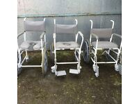 Disability Shower Commode Chair(new)