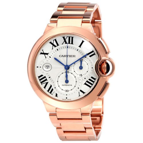 $28124.99 - Cartier Ballon Bleu 18kt Rose Gold Chronograph Mens Watch W6920010