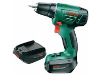 Bosch PSR 14.4 LI Cordless Drill Driver with 14.4 V Lithium-Ion Battery, Great Condition