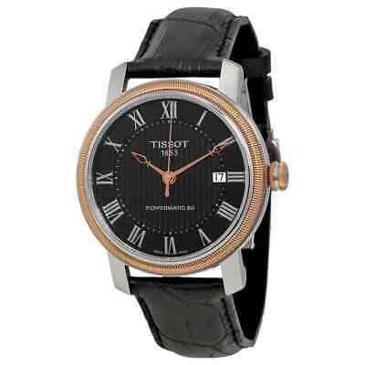 Tissot T-Classic Bridgeport Powermatic 80 Black Dial Men's Watch T0974072605300