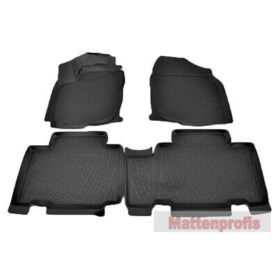 Toyota RAV 4 Fussmatten Fußraumschalen Satz 4.Gen ab 2013