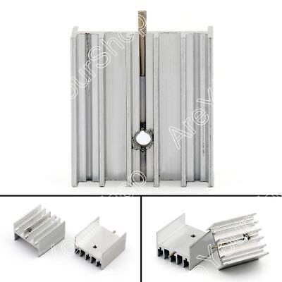 10x Heat Sink Cooler 23x17x25mm Radiator For Power Cpu Transistormosfetic B Ue