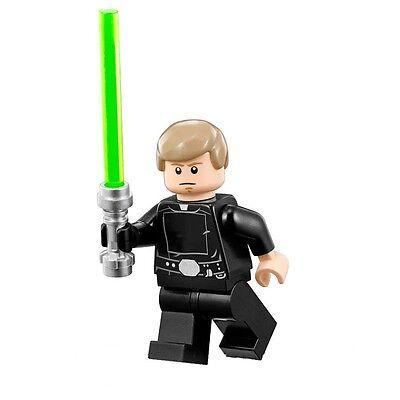 LEGO STAR WARS MINIFIGURE LUKE SKYWALKER FINAL DUEL with LIGHTSABER 75093 75146 - Luke Skywalker Child
