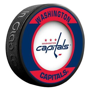 Washington Capitals Retro Style Hockey Puck (New)