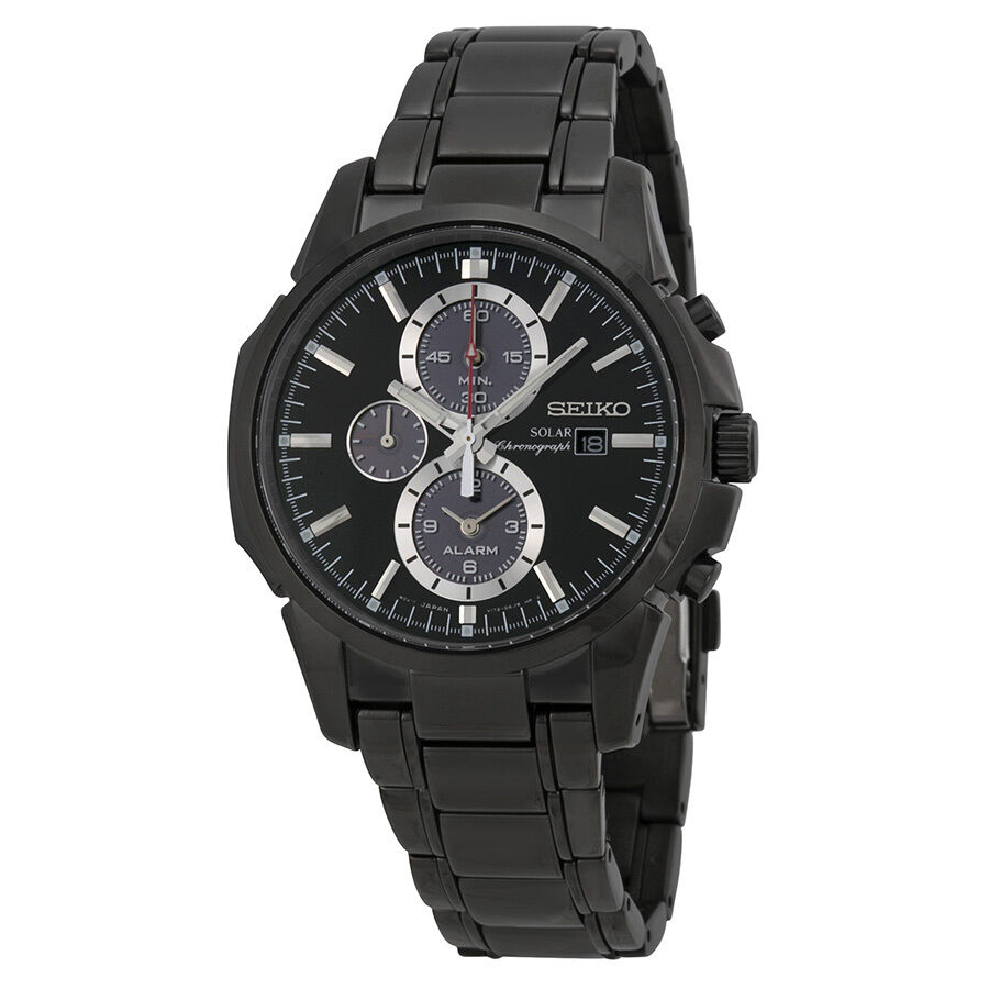 Seiko Men's Ssc095 Chronograph-solar Classic Solar Watch 4