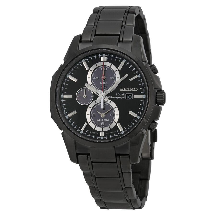 Seiko Men's Ssc095 Chronograph-solar Classic Solar Watch 4