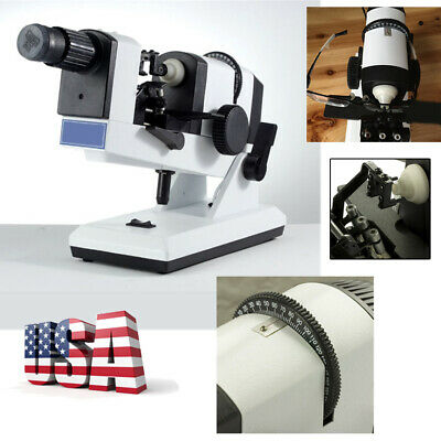 Manual Lensometer Optical Lensmeter Prism Lensmeter Unit Focimeter With Scale